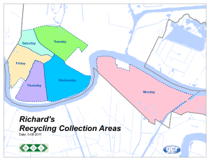 New Orleans Recycling Routes