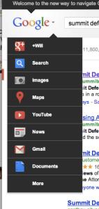 New Google Navigation UI