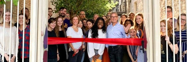Photo of Search Influence ribbon cutting on Oretha Castle Haley Blvd., New Orleans