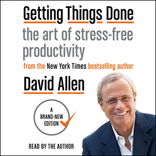Getting Things Done Audible Book Cover